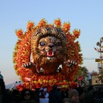 The papier-mache masks are the true protagonists of the Carnival of Viareggio