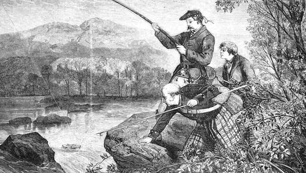 Fishing in Scotland