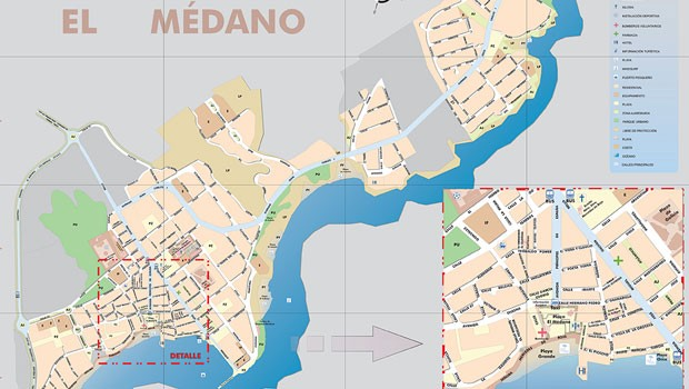 El Medano map