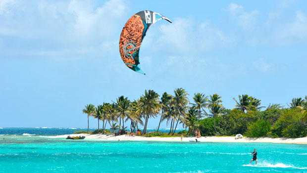 caribbean-kite-surfing
